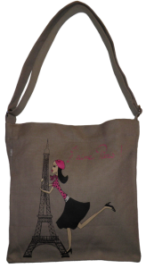 Little Bag coton bio J aime Paris Zazazou
