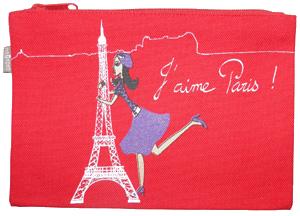Trousse coton bio J aime Paris Zazazou 300