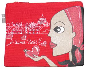Trousse coton bio Sacre Coeur Zazazou300