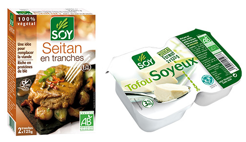 Compo seitan + tofu
