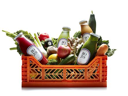 Cageot fruits et légumes