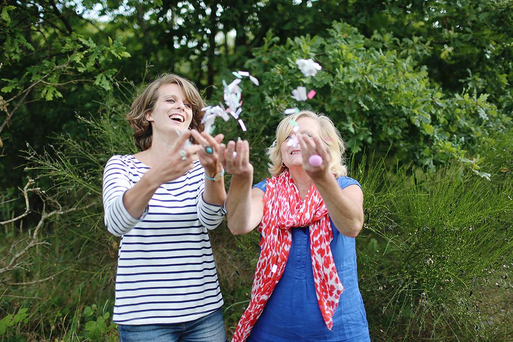 Muriel et Ingrid du blog Bidule et Cocotte pour Forever Green BD