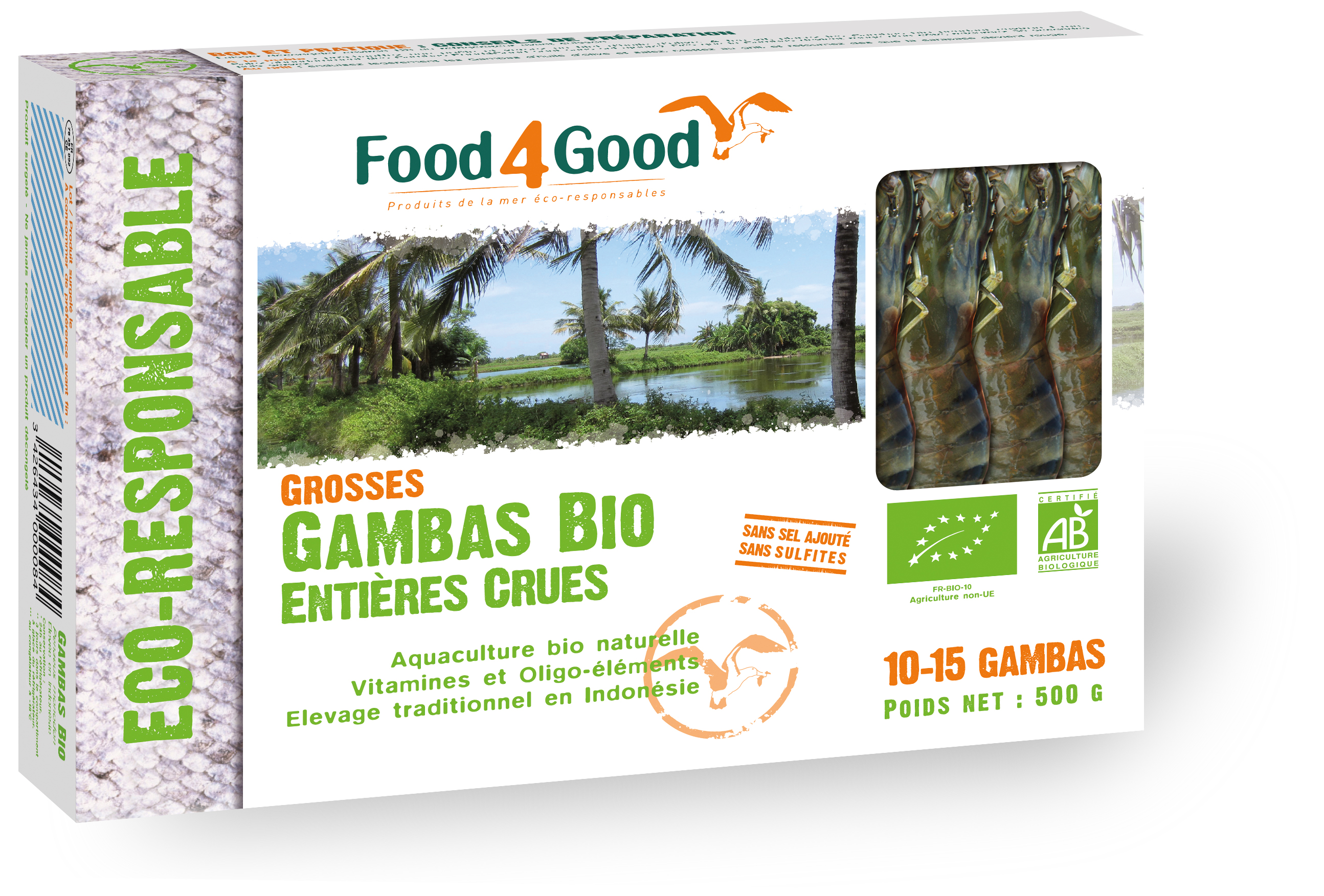 Food4Good - Gambas bio