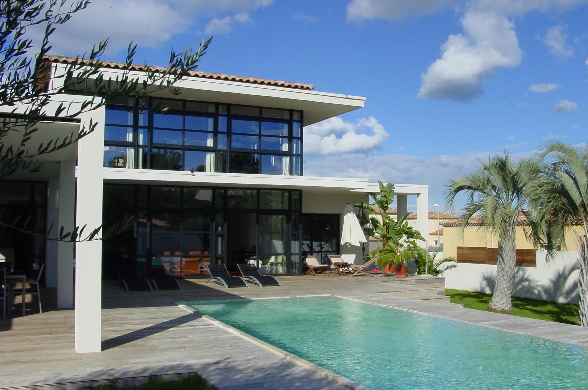 Plan de maison luxueuse une maison luxueuse prestige nb - Plan de maison luxueuse ...