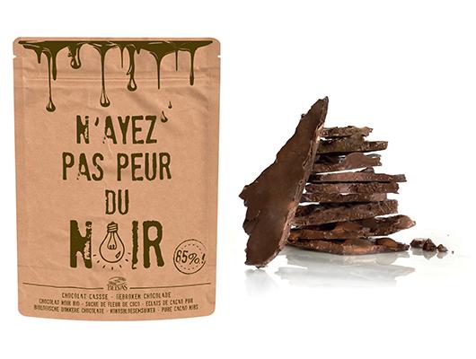 BELVAS - Chocolat cassé N'ayez pas peur du noir bio